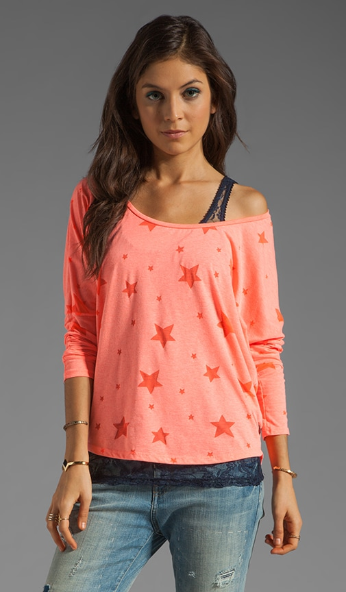 Lace Tank with Star Tee