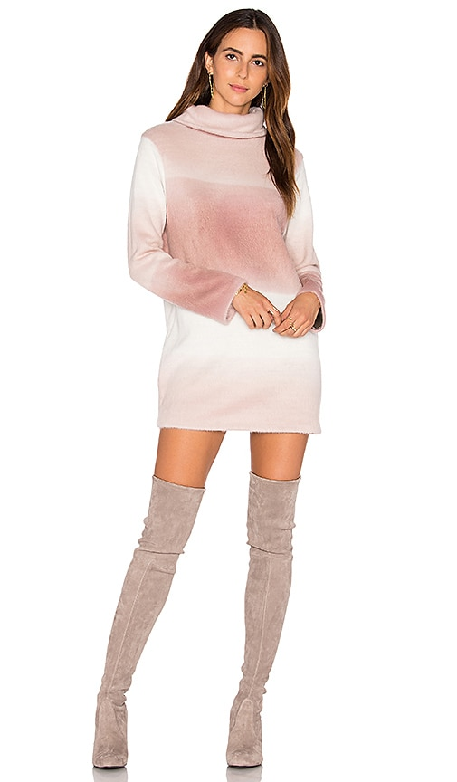 Maria Stanley Tawni Sweater Dress in Mauve
