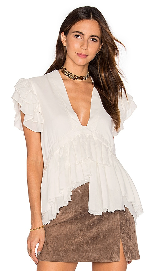 Maria Stanley Mariah Top in White
