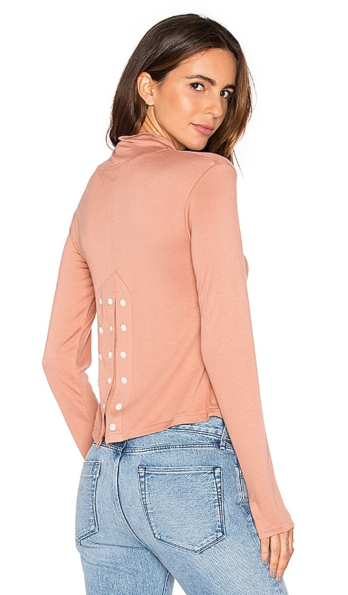 Maria Stanley Alane Top in Blush