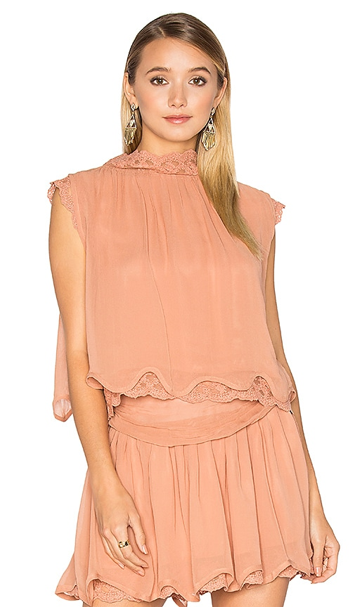 Maria Stanley Lane Top in Blush