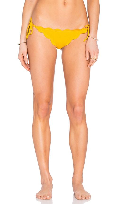 Marysia Swim Mott Bikini Bottom in Yellow