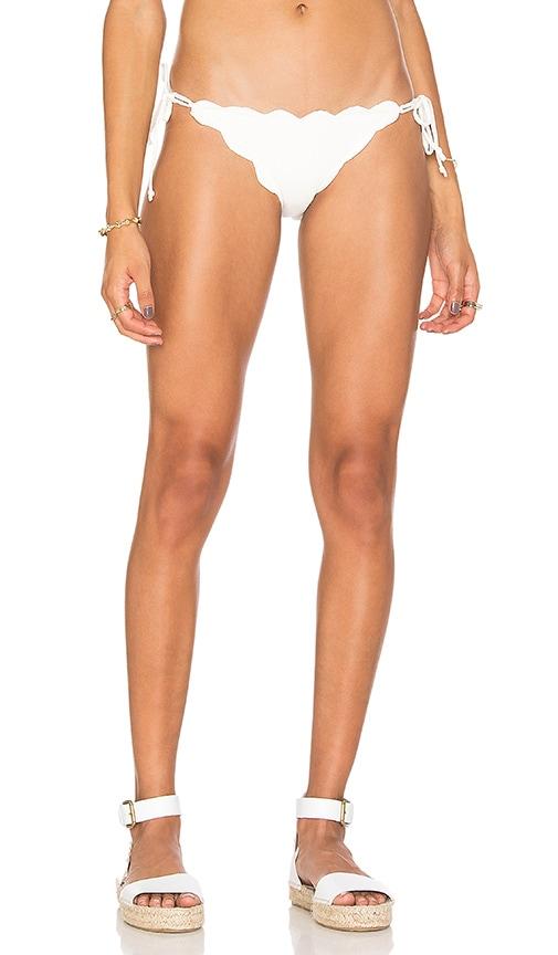 Marysia Swim Mott Bikini Bottom in Ivory