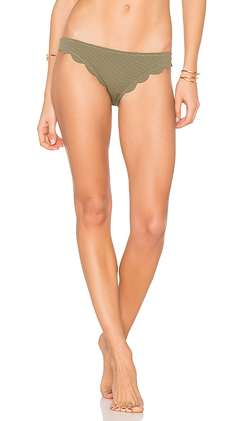 Marysia Swim Broadway Bikini Bottom in Green
