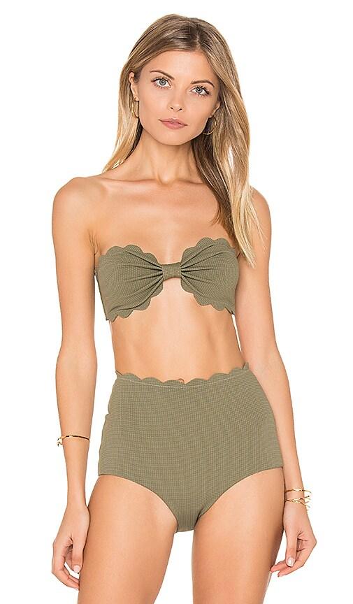 Marysia Swim Antibes Bikini Top in Green