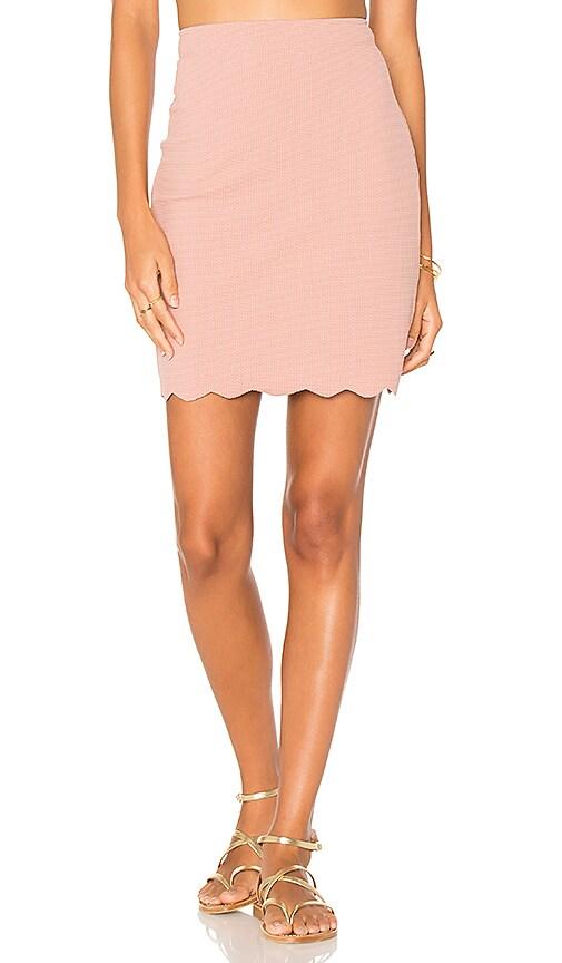 Marysia Swim Montauk Skirt in Pink