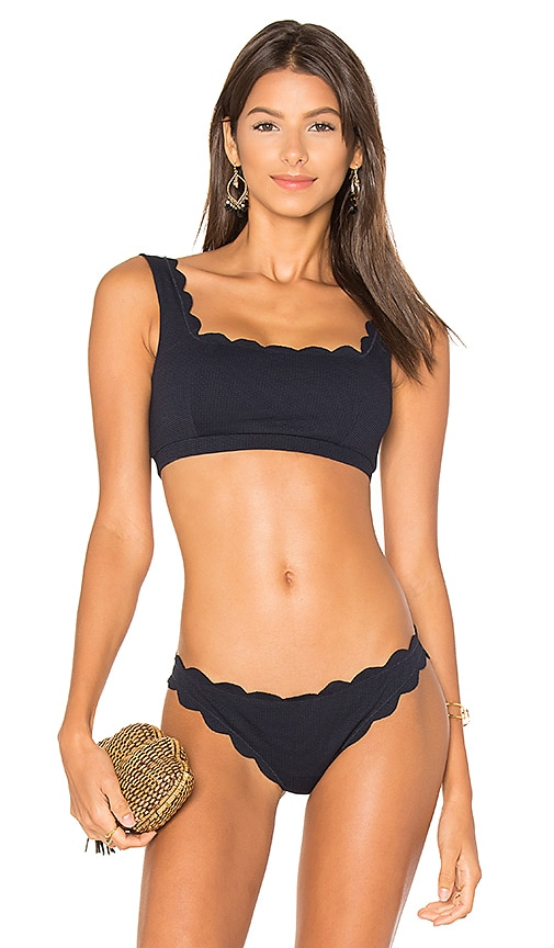 Marysia Swim Palm Springs Top in Navy