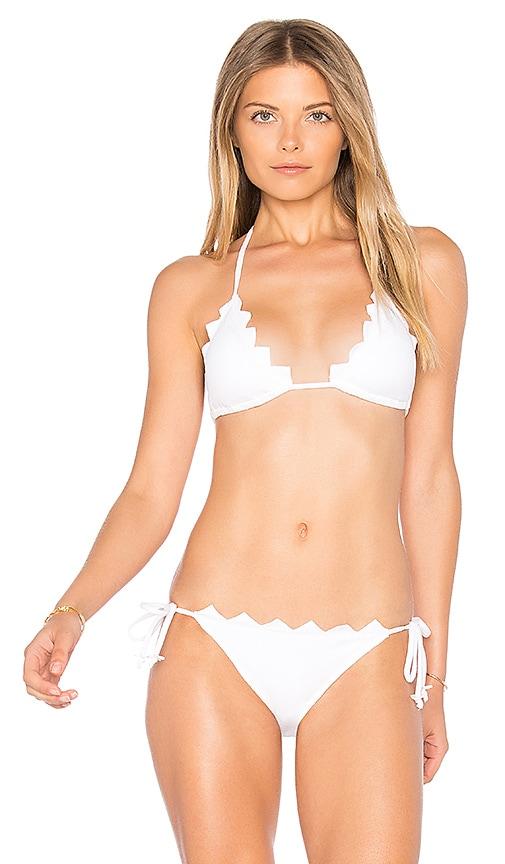 Marysia Swim Broadway Honolulu Top in White