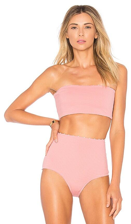 Marysia Swim Short Tube Top in Pink