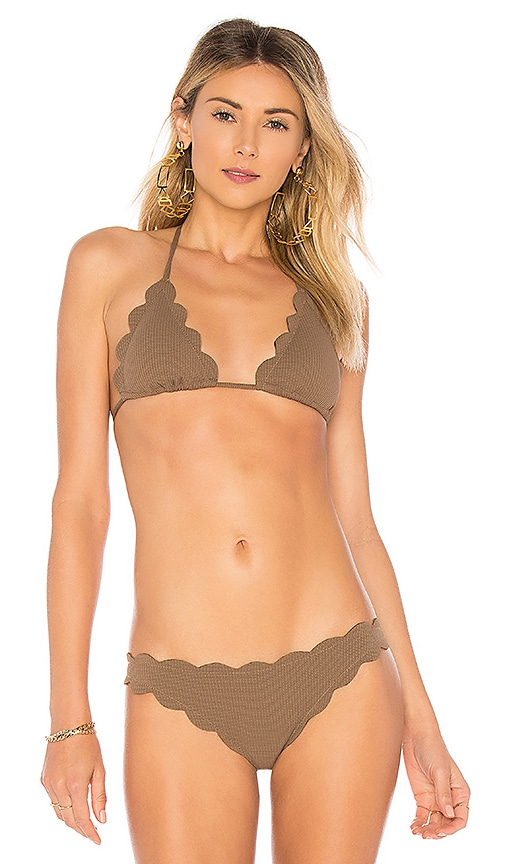 Marysia Swim Broadway Top in Brown