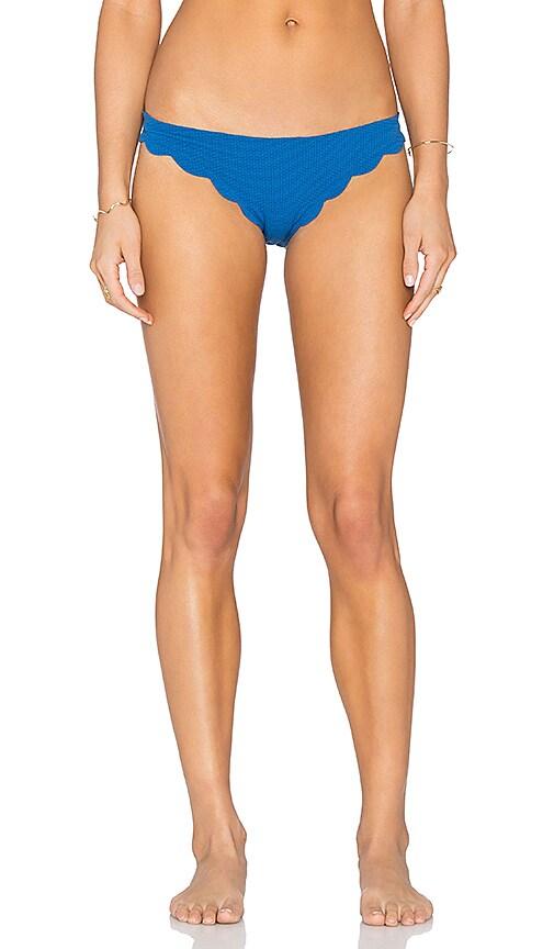Marysia Swim Broadway Bikini Bottom in Snorkel Blue