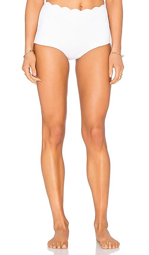 Marysia Swim Palm Springs Bikini Bottom in Off White
