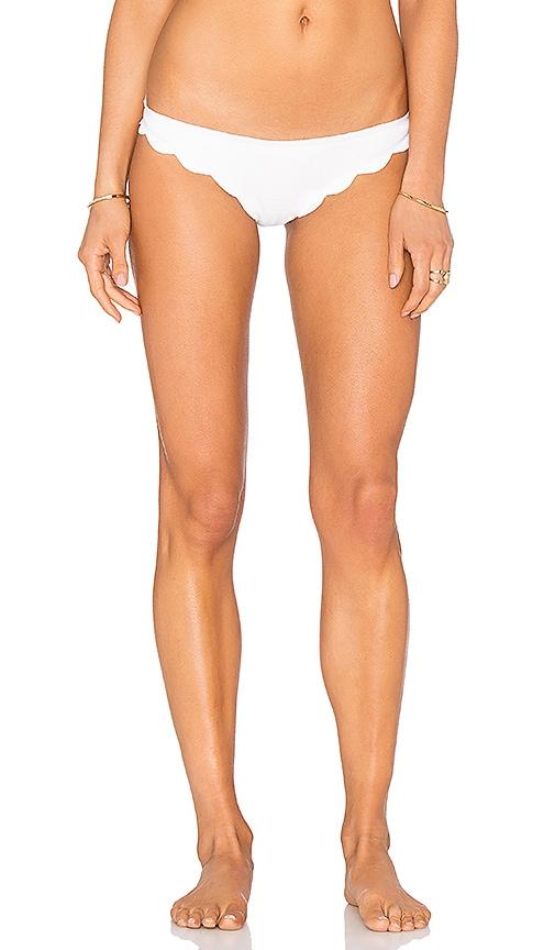 Marysia Swim Broadway Bikini Bottom in Off White