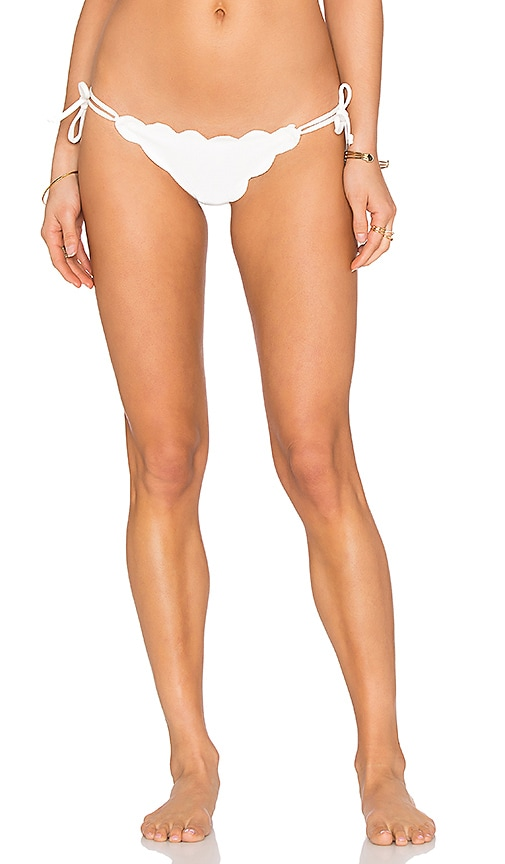 Marysia Swim Mott Bikini Bottom in Off White