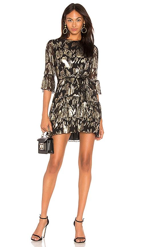 Lucia Ruffled Mini Dress