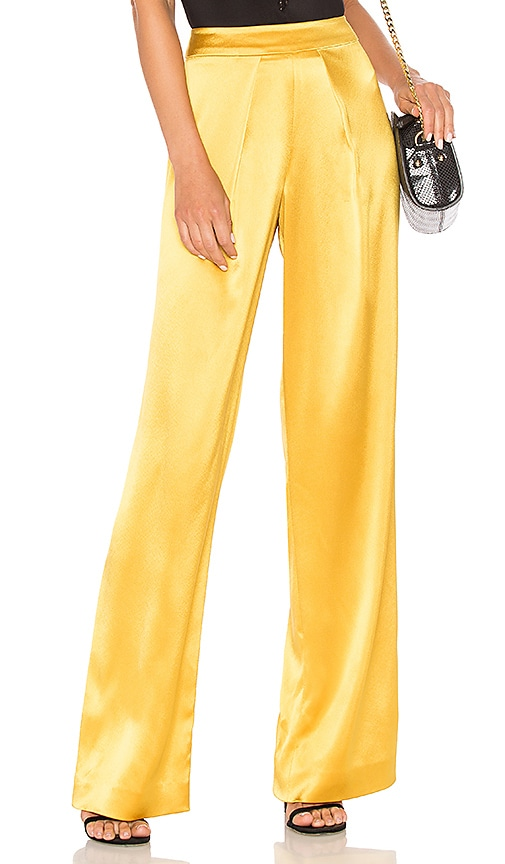 Mestiza New York Fancy Pants in Yellow
