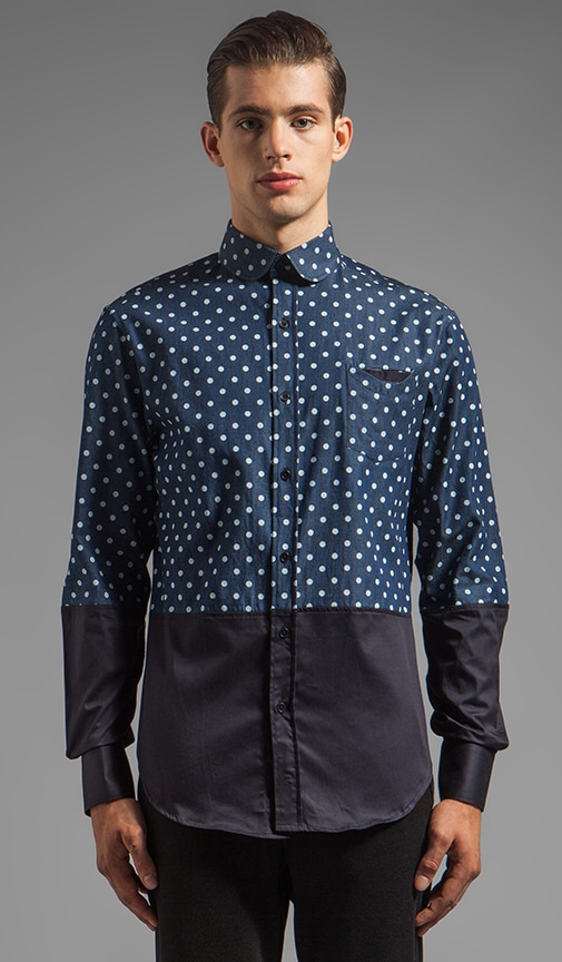 Dotted Pocket Shirt