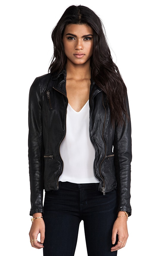 Sirius Leather Biker Jacket