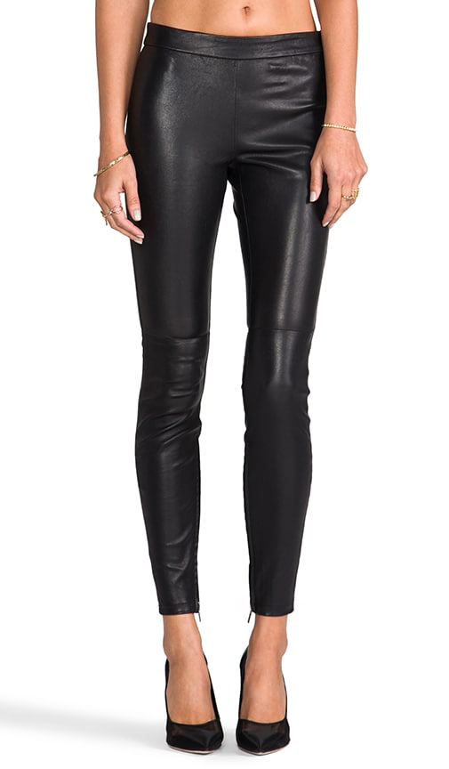 527987c656288 Muubaa Rica Stretch Leather Legging in Black | REVOLVE
