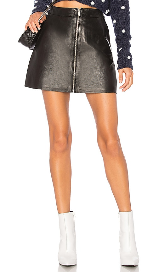 Muubaa Impala Mini Skirt in Black