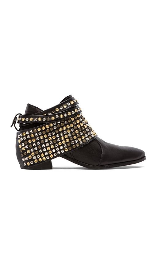 Chloe Studded Removable Hardware Bootie