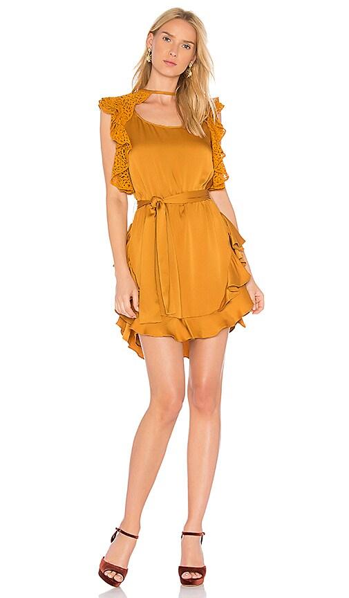 Marissa Webb Mateo Dress in Mustard