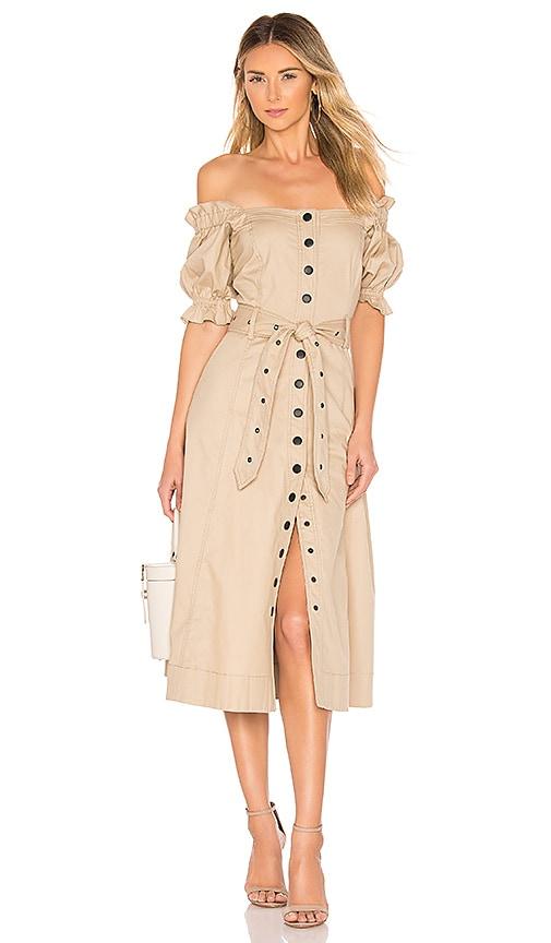 Charlize Canvas Dress