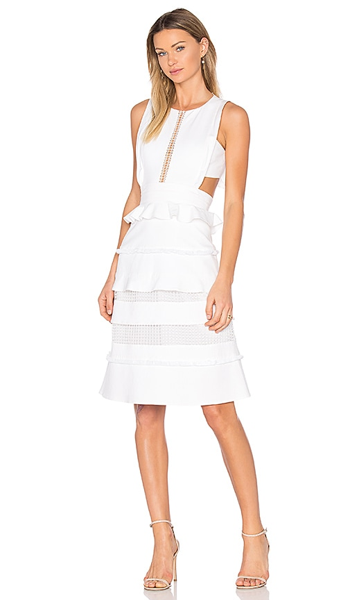 Marissa Webb Alexi Dress in White