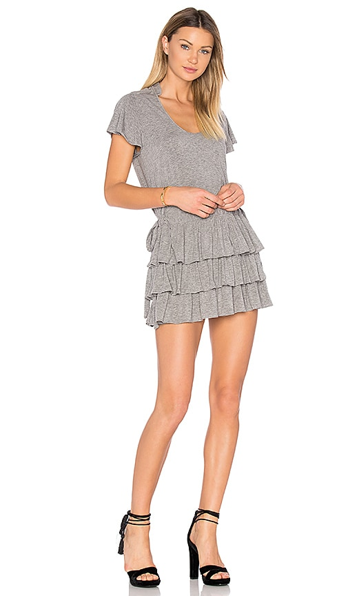 Marissa Webb Beverly Knit Dress in Gray