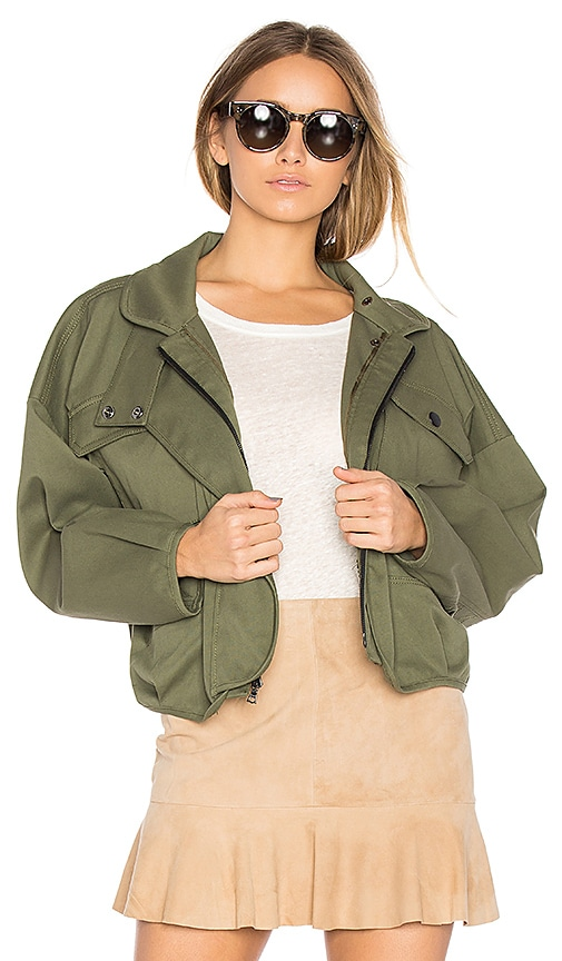Marissa Webb Piper Jacket in Army