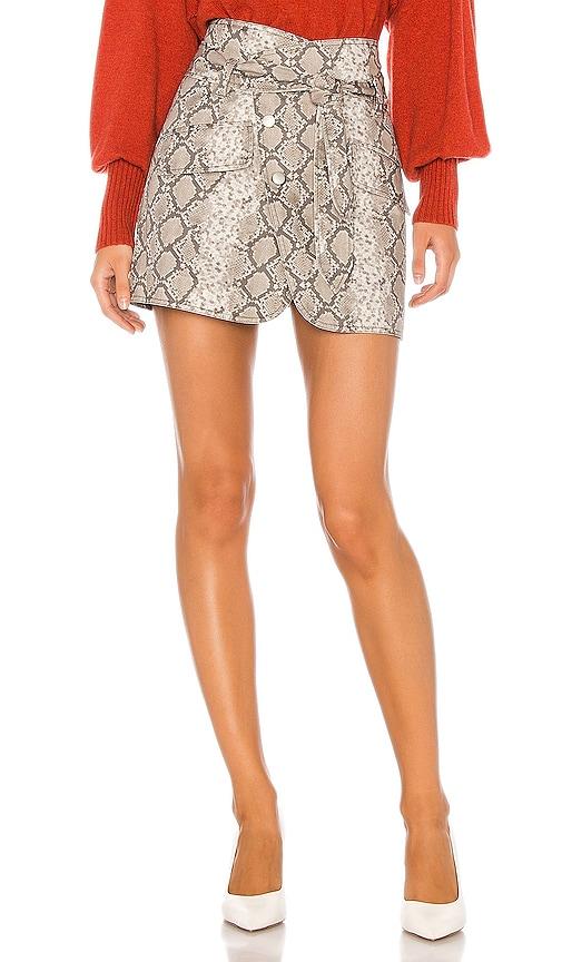 Katrina Print Canvas Skirt