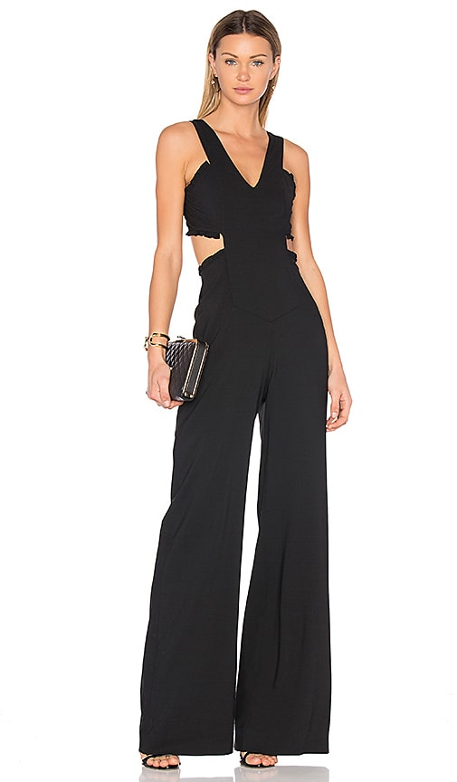 b87a2dff221 Marissa Webb Alicia Crepe Jumpsuit in Black