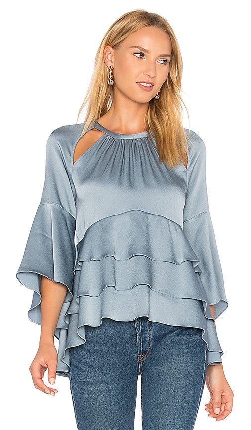 Marissa Webb Emmeline Top in Blue