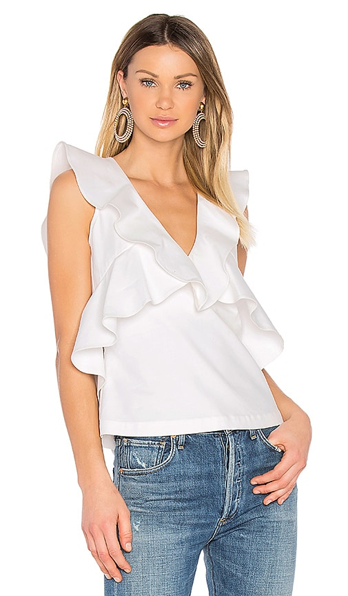 Marissa Webb Margeaux Top in White
