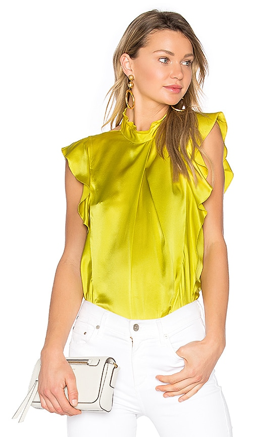 Marissa Webb Sharon Blouse in Yellow