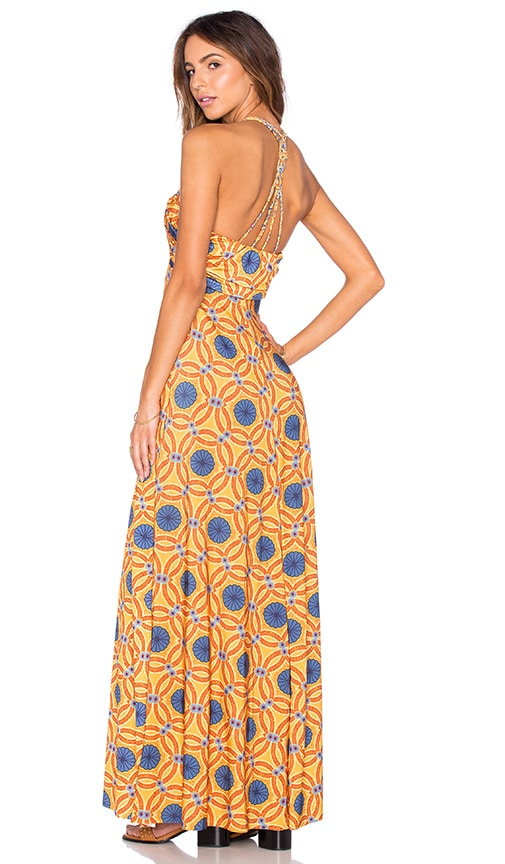 My Own Summer Ling Maxi Dress in Mustard