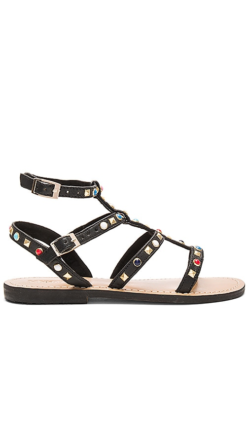 Mystique Sandal in Black