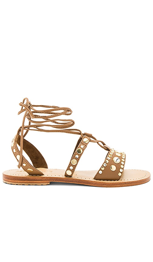 Mystique Sandal in Brown
