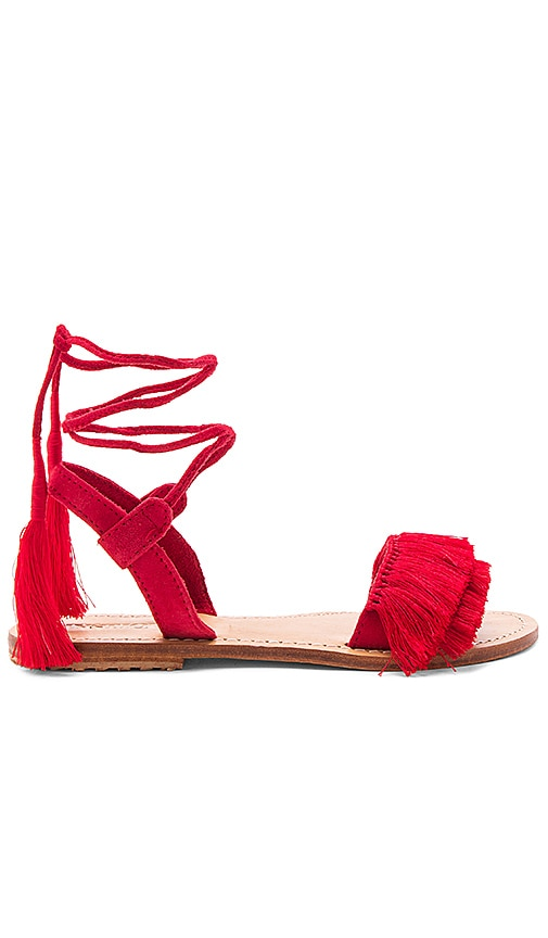 Mystique Sandal in Red