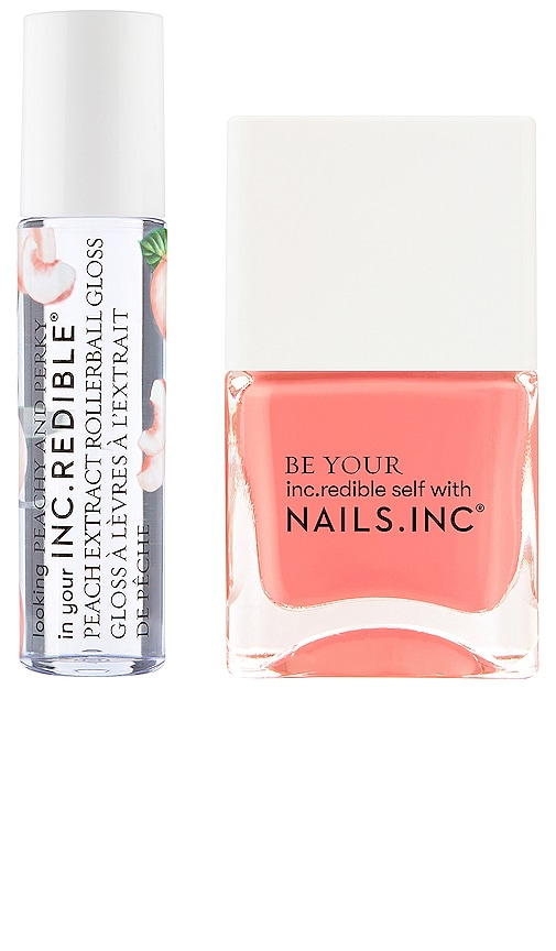 Nails.inc Peachy And Perky Duo In N,a