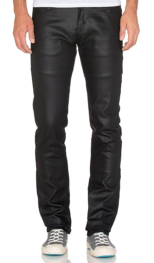 Skinny Guy Wax Coated Black Stretch 11 oz.