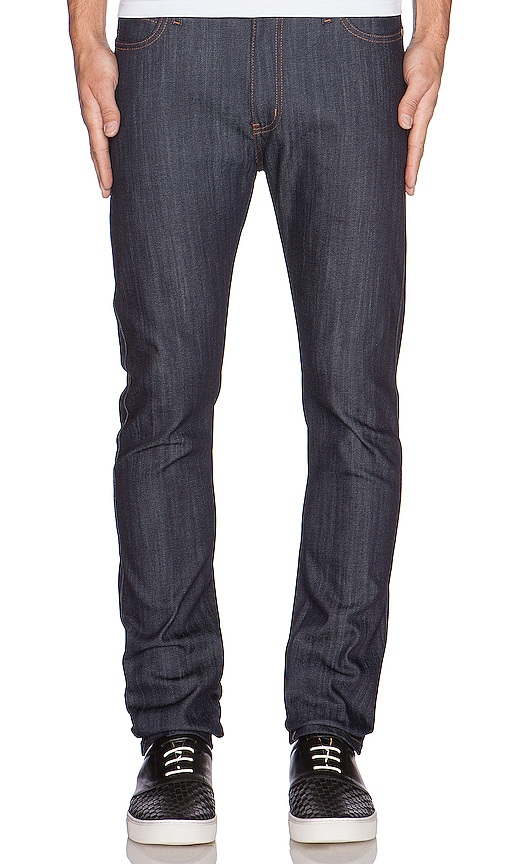 Stacked Guy 12oz Indigo Power Stretch