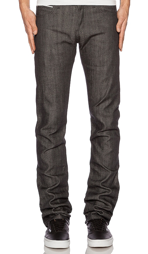 Skinny Guy Charcoal Selvedge