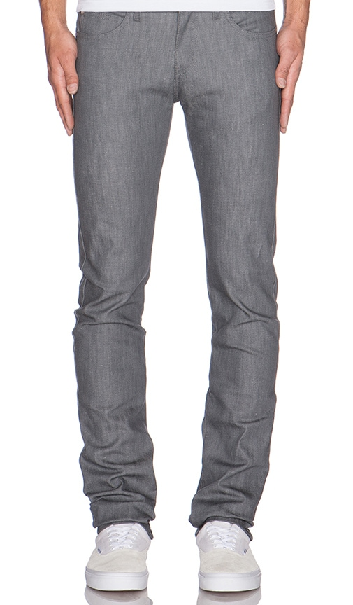Naked & Famous Denim Skinny Guy in Grey Stretch