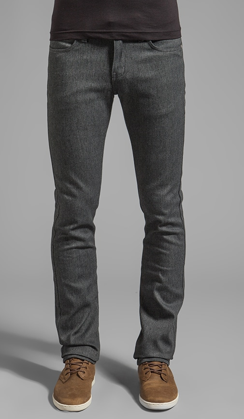 Skinny Guy Heather Grey Stretch 11 oz.