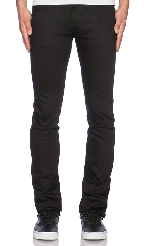 Naked & Famous Denim Skinny Guy in Black Power Stretch