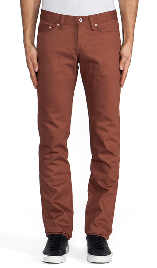 Weird Guy Rust Selvedge Chino 12 oz.