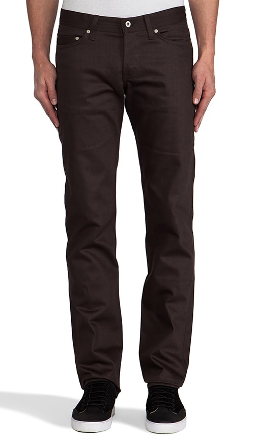 Weird Guy Brown Selvedge Chino 12 oz.