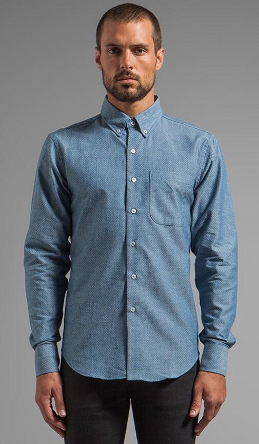 Regular Shirt Dobby Cloth Dots
