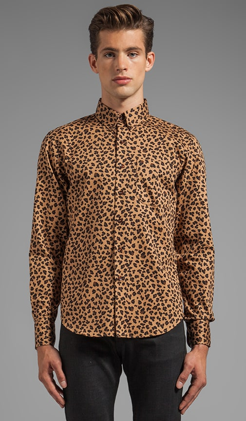 Regular Shirt Leopard Print